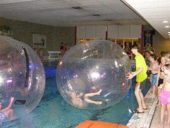 ballen over water lopen